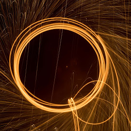 by Peggy Paelinck - Abstract Fire & Fireworks