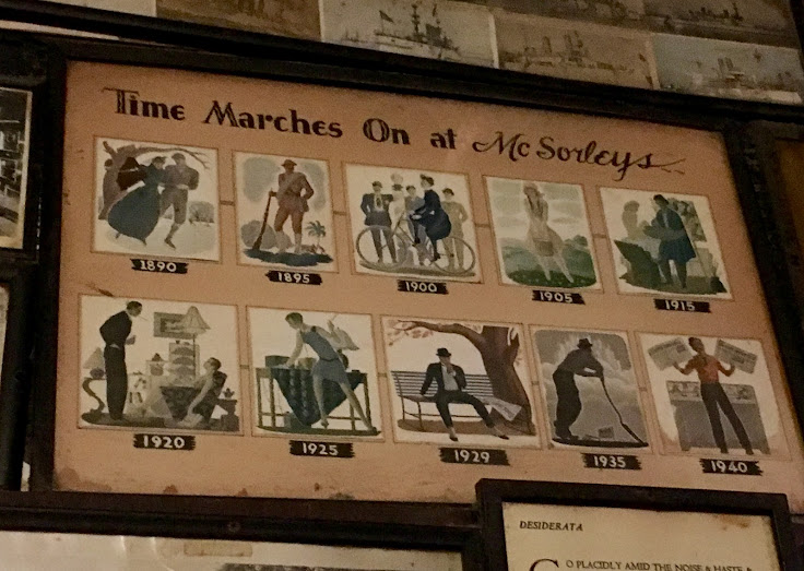 McSorley's was considered old in the 1940s.