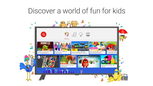 YouTube Kids for Android TV 1.05.03 screenshots 1