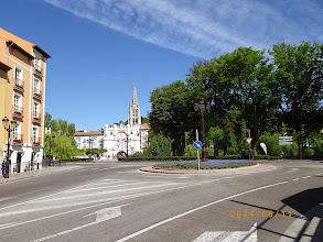 Photo: Arrivée sur la ville historique