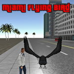 Miami Flying Bird Icon