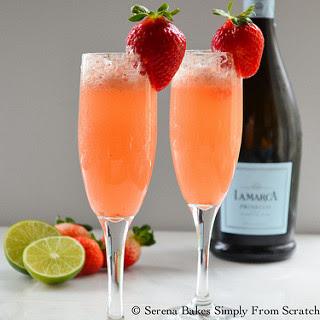 Strawberry Champagne.