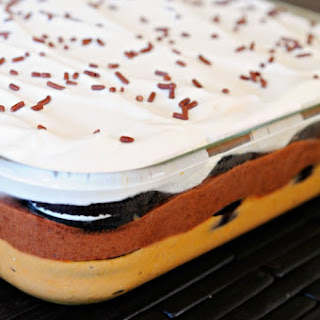 Iced Coffee Cookies and Cream Icebox Cake