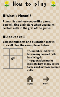 Pixnuri - Color Logic puzzle- screenshot thumbnail