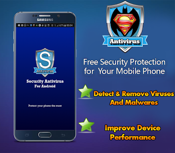 Super Bat Security Antivirus & Booster - náhled