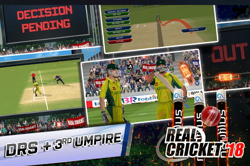 Real Cricketu2122 18 1.6 gameplay | by HackJr.Pw 5
