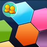 Hexa Battle! Block Puzzle Icon