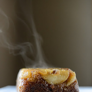 Caramelized Upside Down Pear Bread