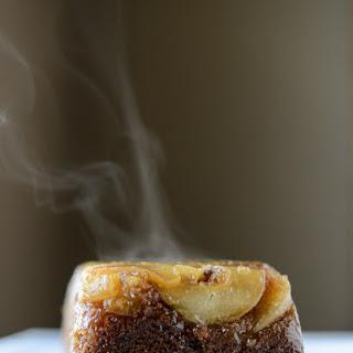 Caramelized Upside Down Pear Bread