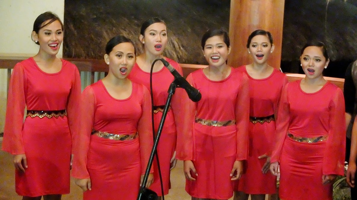 The ladies of the HNU Chorale