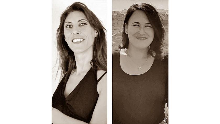 Beatriz Lara, de Abla, y Ana María Parra, de Antas.