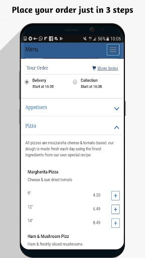 UK Pizza Online 1.0 screenshots 2