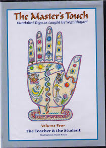 The Master´s Touch vol 4: The teacher and the student - DVD med Yogi Bhajan