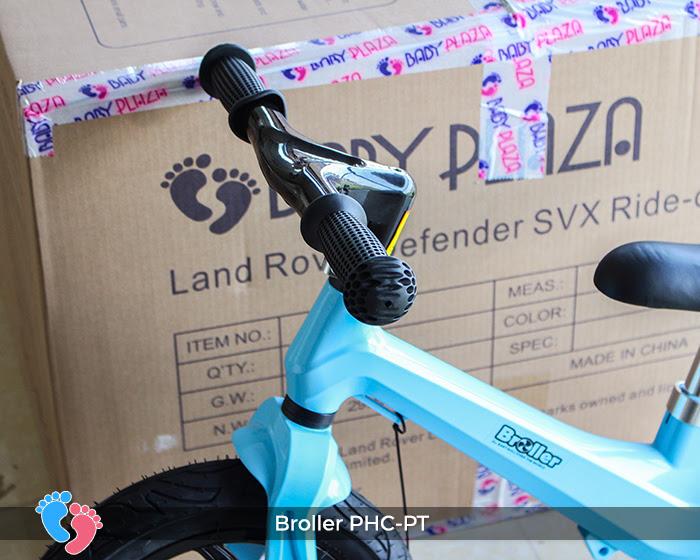Xe cân bằng Broller PHC-PT bánh hơi 7