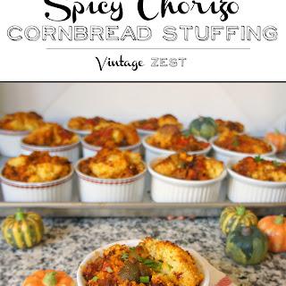 Spicy Chorizo Cornbread Stuffing