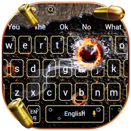Bullet Gun Gravity keyboard
