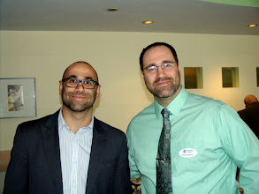Photo: President-Elect Georges Maamari & President Steve Moons