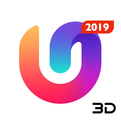 U Launcher 3D: New Launcher 2019 , 3d themes icon