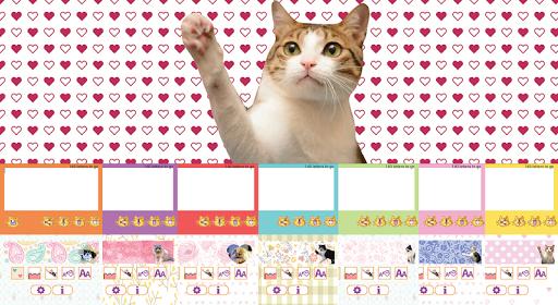 Cat Sticky Memo Notepad Lite