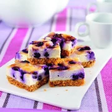 SPLENDA BLUEBERRY CHEESECAKE BARS