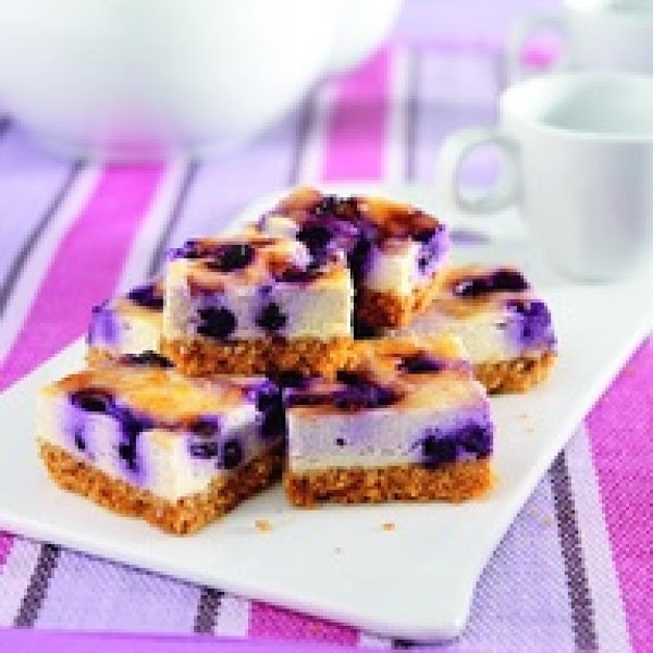 Splenda Blueberry Cheesecake Bars Recipe