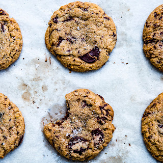 Whiskey and Rye Chocolate Chip Cookies.