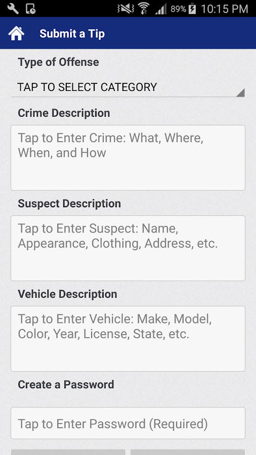 ABQPolice Mobile- screenshot