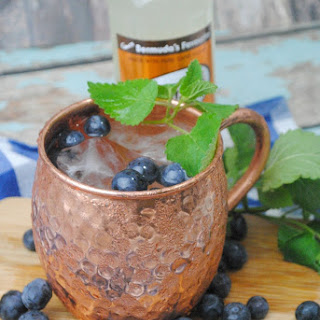 Blueberry Moscow Mule Rita