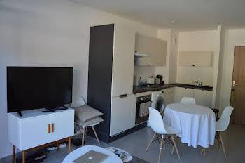 Appartement meublé 2 pièces 37,34 m2