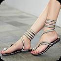 Women Sandals Design icon