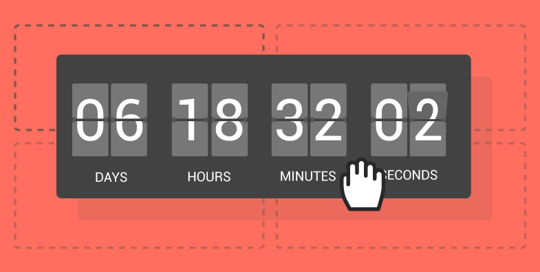 convert leads into meetings - countdown timer