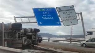 Accidente del camión en la A7