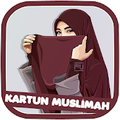 Cartoon Muslimah Wallpaper HD
