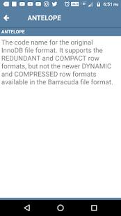 MySQL Dictionary Offline - náhled