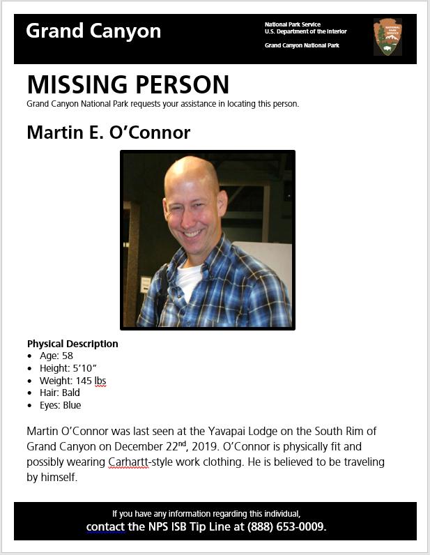 Un excursionista desapareció por 11 días en el Gran Cañón