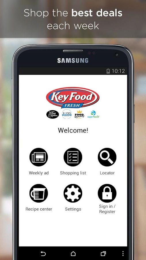 Key Food- screenshot