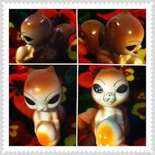 "Photo: The ""alien"" squirrel figurine #intercer #romania #squirrel #decor - via Instagram, http://instagr.am/p/MThK0gJfol/"