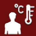 Thermometer For Fever : Body Temperature Checker icon