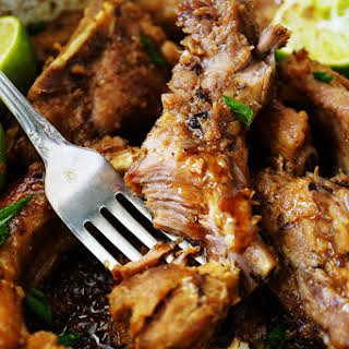 Best-Ever Sticky Slow Cooked Asian Ribs.