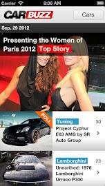 CarBuzz - Daily Car News Screenshot 1