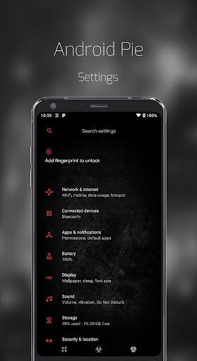 Biohazard Substratum Theme screenshot 1