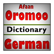 Afaan Oromoo German Dictionary