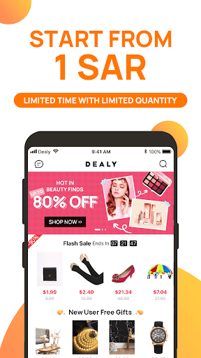 Dealy-The latest e-commerce online store Apk 2