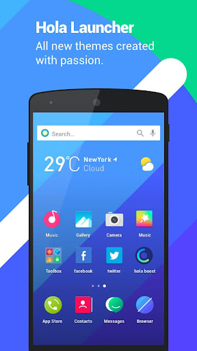 Hola Launcher- Theme,Wallpaper screenshot 1