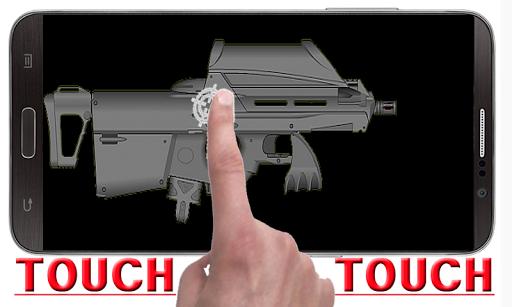レーザー銃の音