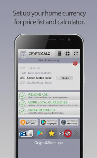 Crypto Currency & Bitcoin Calculator  screenshots 8