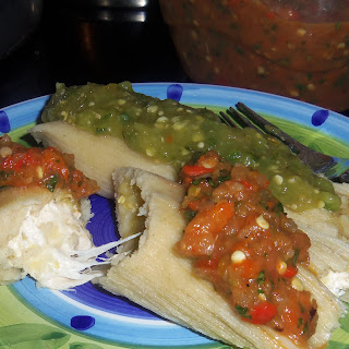 11. Cheesy Green Chile Chicken Tamales.