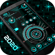 Hi-Tech Launcher 2020 - UI of Future, Theme, Fast