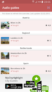 Travel Guides (Audio Guides) screenshot 1