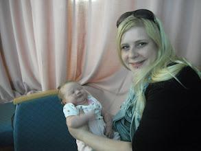 Photo: Auntie Daniece with little Audrey
